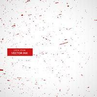 red ink or blood splatter splashes texture background