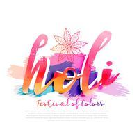 färgglad bakgrund för lycklig holi festival