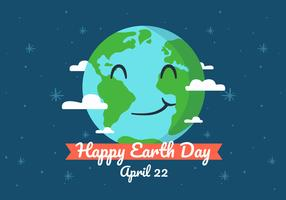 Earth Day Background Illustration