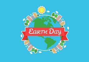 Aarde dag achtergrond afbeelding