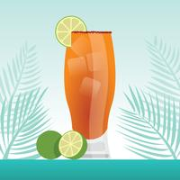 illustration de michelada