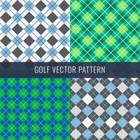Golf Pattern vector
