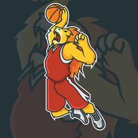 Mascot de baloncesto