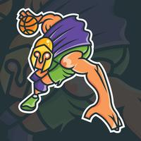 Basketbal Mascotte