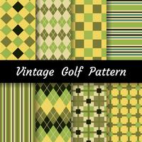 Golf Pattern Set