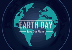 Earth Day Vectot Illustration