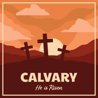 Calvary Landscape Poster