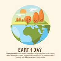 Earth Day Illustration