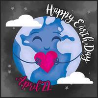 Vector Earth Day Illustration