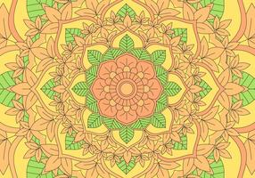 Kaleidoscope Pattern Background Illustration