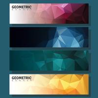 Geometrisk Banner