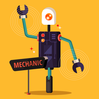 AI Robot Mechanic