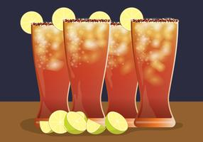 Michelada Vector Illustration
