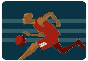 Basketballspelare Vector
