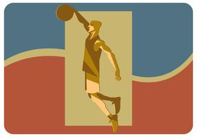 Slam Dunk Illustration Vector