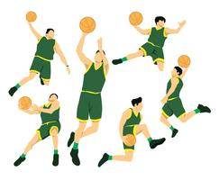 Slam Dunk Actions Vector