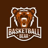 Basketball Bear Mascot
