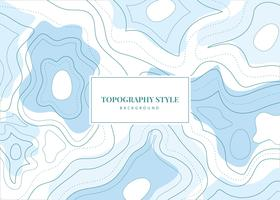 Topography Style Vector Background