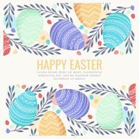 Vector sfondo di Pasqua