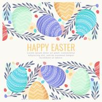 Vector Easter Background