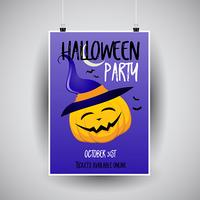 Halloween flier design