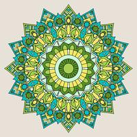 Fundo decorativo mandala