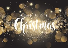 Jul bakgrund av bokeh ljus