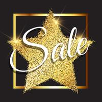 Glittery sale background