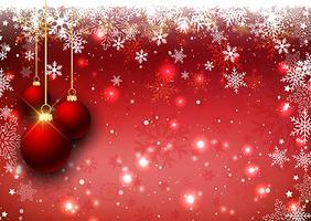 Fondo de adorno navideño