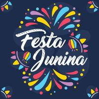 Vecteur de Festa Junina coloré