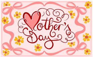 Mother's Day Illustration Vectors