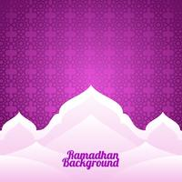 Ramadhan Background Pattern Vector