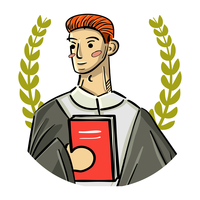 Male Teacher Avatar vector