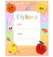 Kleuterschool Leuk diploma