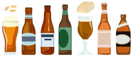 Vectores de cerveza