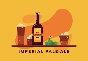Imperial Pale Ale Vector