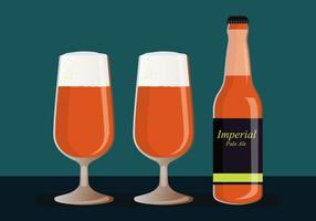 Imperial Pale Ale-Vektor-Illustration