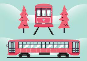 New Orleans Streetcar-Vektor-Design