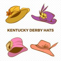 Plano Kentucky Derby Hat Vector Illustration