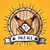 Imperial Pale Ale Illustratie