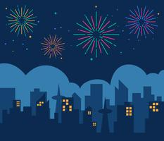 Awesome Fireworks Vectors