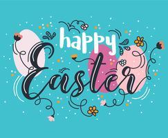 Vector de fondo de Pascua