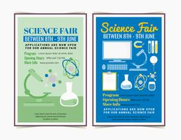 Vector Science Fair Posters