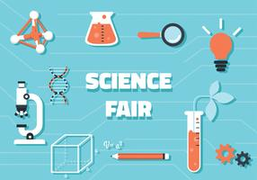 Science Fair-Vektor-Design