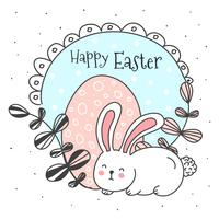 Doodle Easter Vector