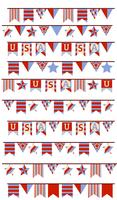 Memorial Day Decorations 2 Vectors
