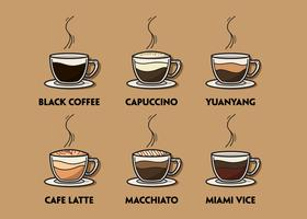 Coffee Illustration Set