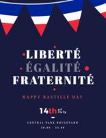 liberté egalite Fraterniteplakat