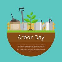 Arbor Tag Feier Vektor