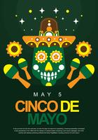 Cinco De Mayo Poster Display